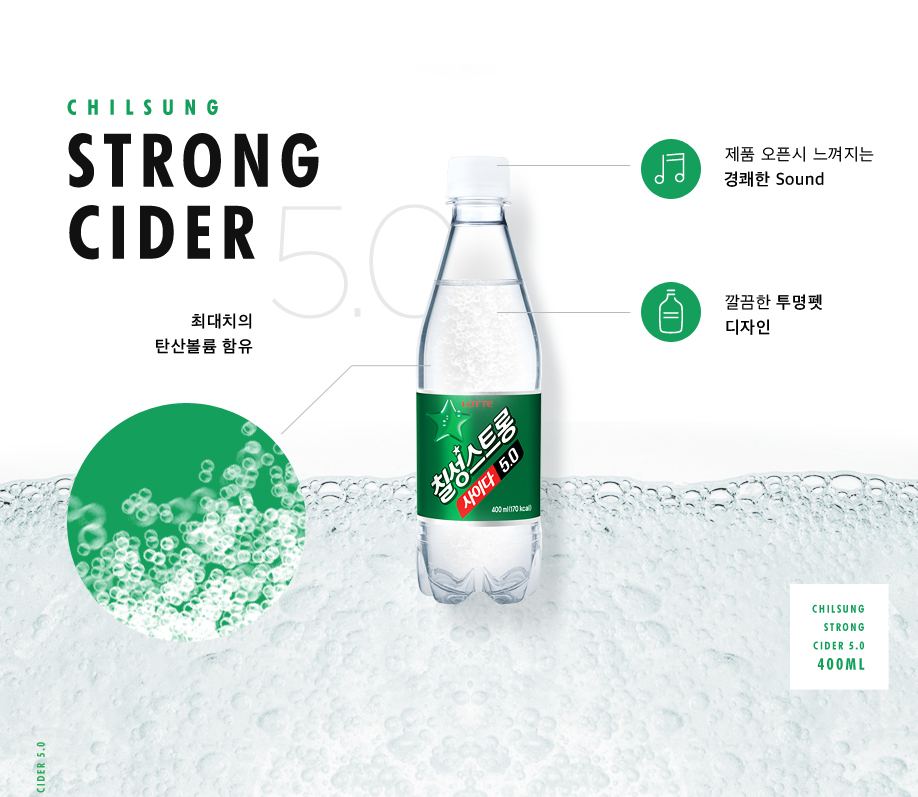 CHILSUNG STRONG CIDER5.0